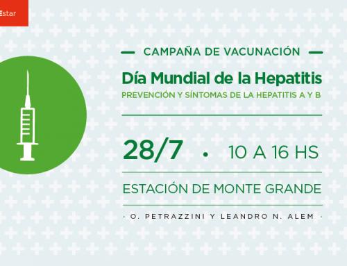El municipio realizará jornada de concientización y vacunación en Monte Grande