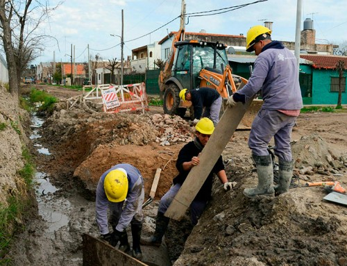 Comenzó la segunda etapa de la obra hídrica San Carlos