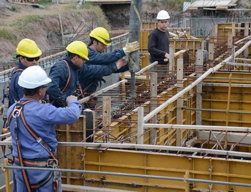 Avanzan las obras en la planta de tratamiento de agua en El Jagüel
