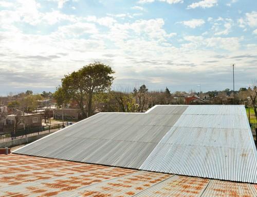 El municipio realiza obras en la primaria 48 en Monte Grande