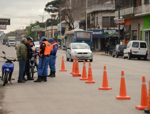 60 vehículos secuestrados por infracciones de tránsito
