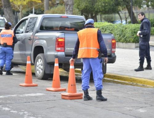 El municipio labró más de 60 actas de infracción en controles vehiculares