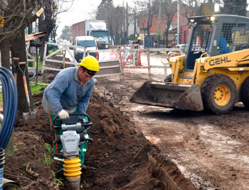 Avanza obra de agua potable en Monte Grande