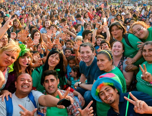 Más de 8000 chicos de 9 de abril disfrutaron de actividades recreativas