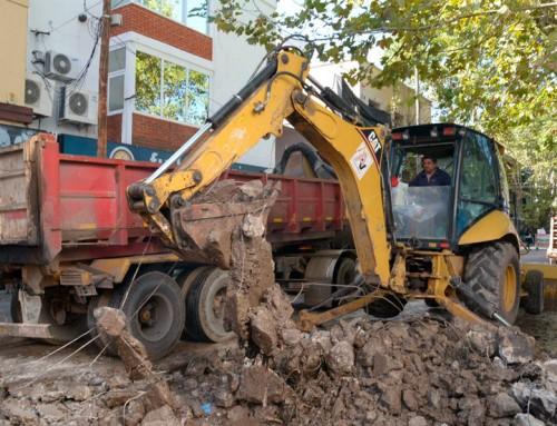 El municipio avanza con el intensivo plan integral de mejora de calles