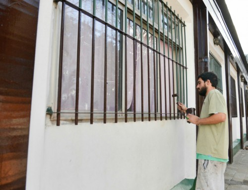 Avanzan las obras de refacción de la escuela Primaria 14 en Monte Grande