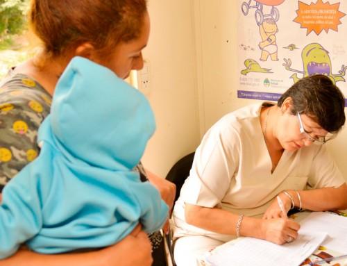El municipio realizará operativos de salud para niños en El Jagüel y Luis Guillón