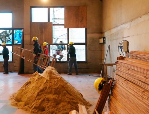 Avanzan las obras en el nuevo centro integral de monitoreo