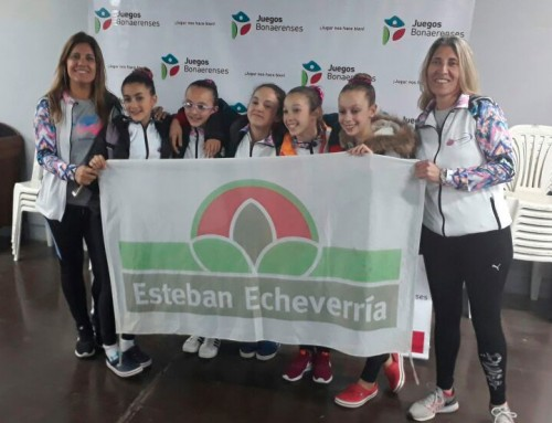 Gimnastas echeverrianas lograron el primer oro en los Juegos Bonaerenses 2017