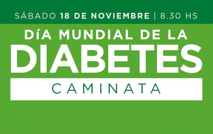 Se trata de una correcaminata de concientización, organizada por el Municipio de Esteban Echeverría, que se realizará en El Jagüel por la Semana Mundial de la Diabetes, para promover hábitos saludables.