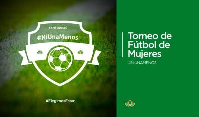 El Municipio de Esteban Echeverría invita a los vecinos a acompañar, el próximo sábado 25 de noviembre, a las 9, a las participantes del Torneo de Fútbol Femenino #NiUnaMenos, evento que se realiza en el marco del Día Internacional de la No Violencia contra la Mujer.