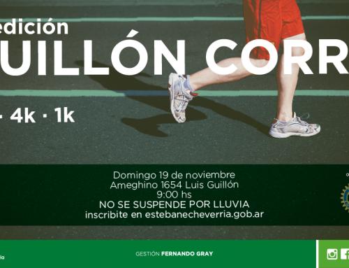 """Los vecinos podrán participar de la 2° edición de """"Guillón Corre"""""""