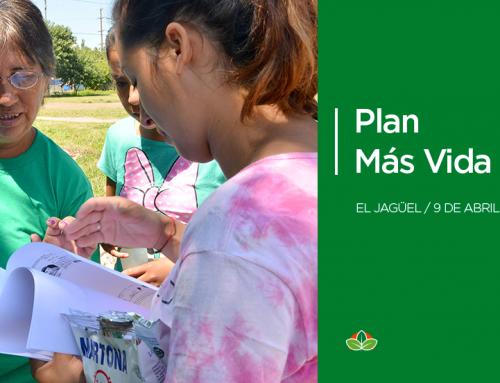 Inscripciones al Plan Más Vida en El Jagüel y 9 de Abril