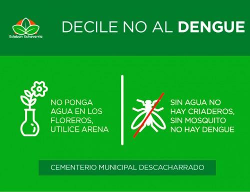 Continúa plan de fumigación para prevenir el dengue en distintos puntos del distrito