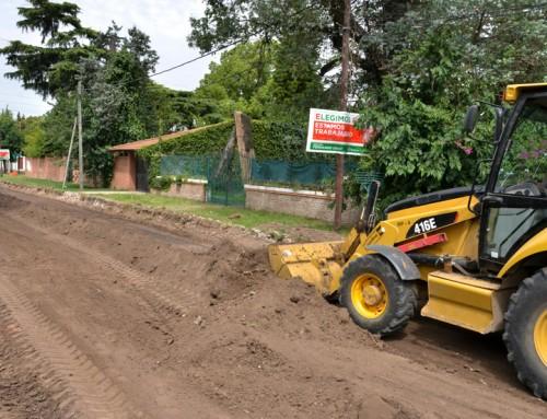 Comenzó nueva obra hídrica en Monte Grande
