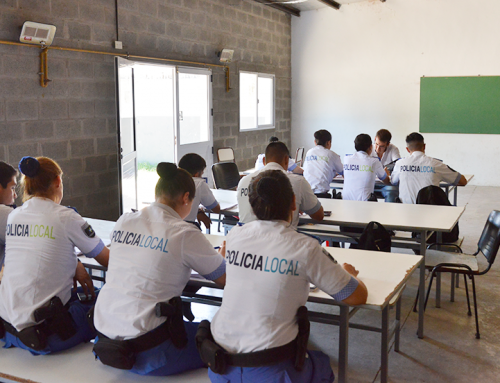 El municipio realiza programa de profesionalización para la Policía Local