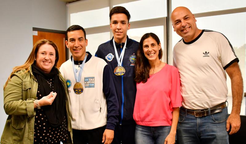 Los campeones panamericanos de Taekwondo son de Monte Grande