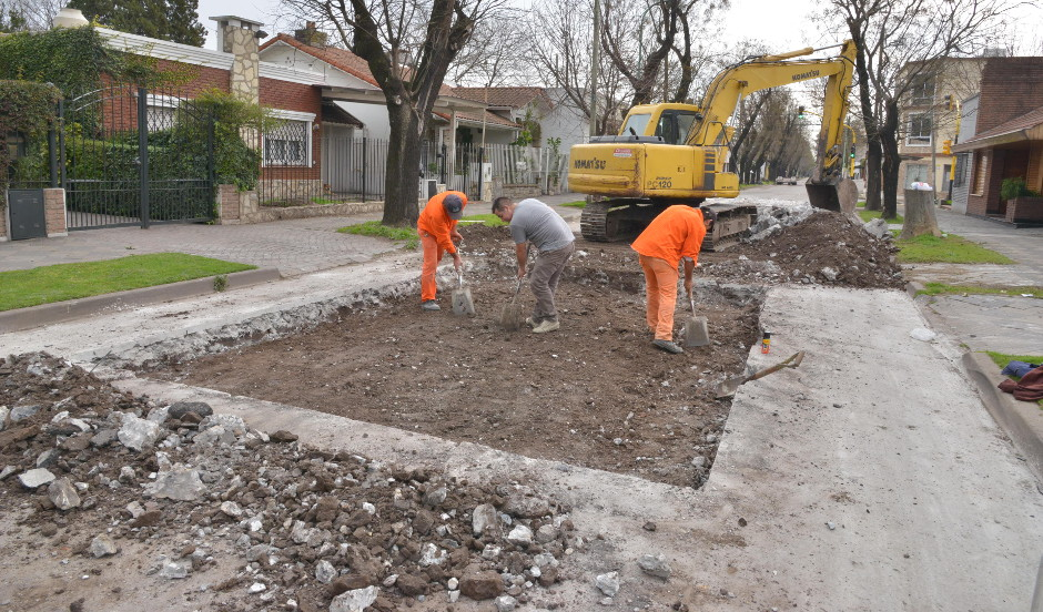 El municipio avanza con un intensivo plan de bacheo