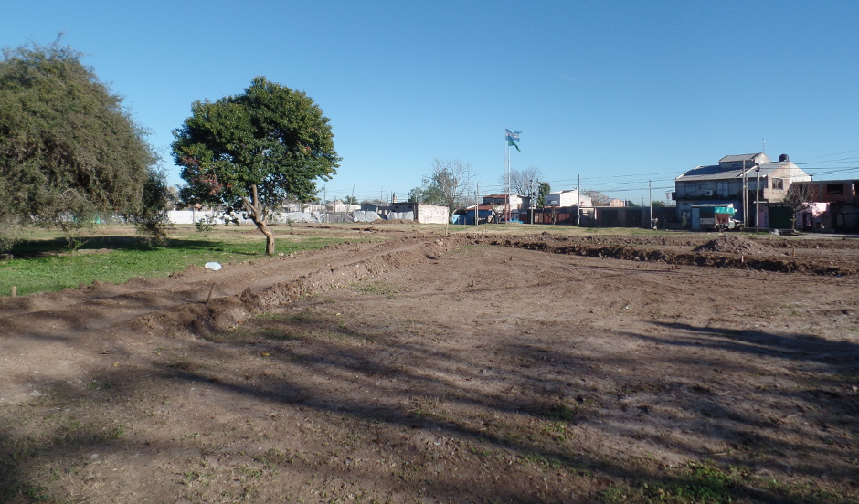 Nueva plaza- Barrio Malvinas (2)