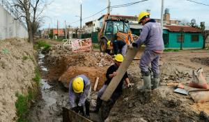 El Municipio de Esteban Echeverría comenzó la segunda etapa de la obra