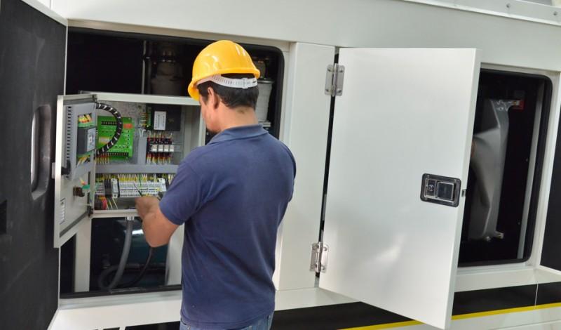 Se trata de aparatología de última generación de vital importancia para continuar con el normal funcionamiento del Hospital Santamarina, dado que otorga suministro de energía eléctrica, que se suma a la obra integral de refacciones que se realizan en el Policlínico.