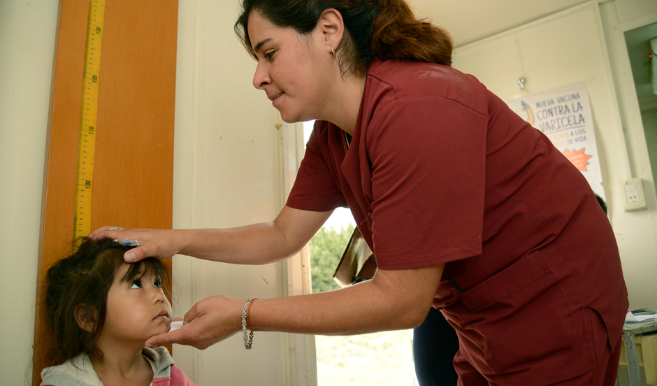Controles de salud para niños en Monte Grande