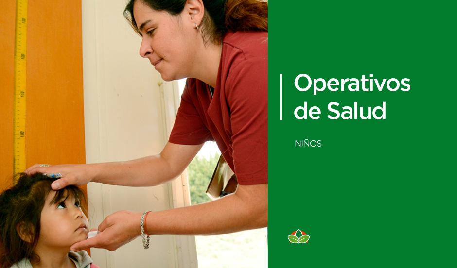 Operativos de salud en 9 De Abril y Monte Grande