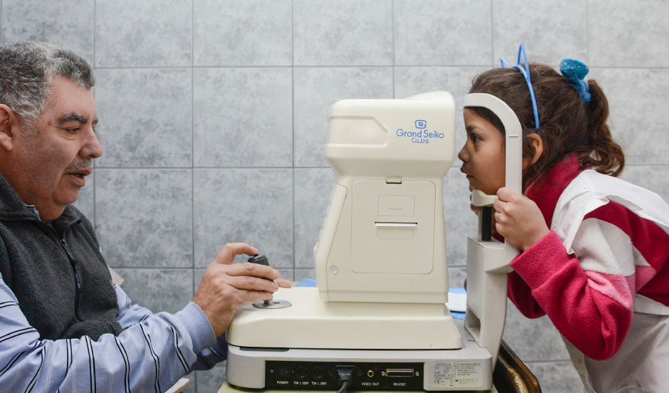 2500 chicos atendidos en Programa Oftalmológico Municipal