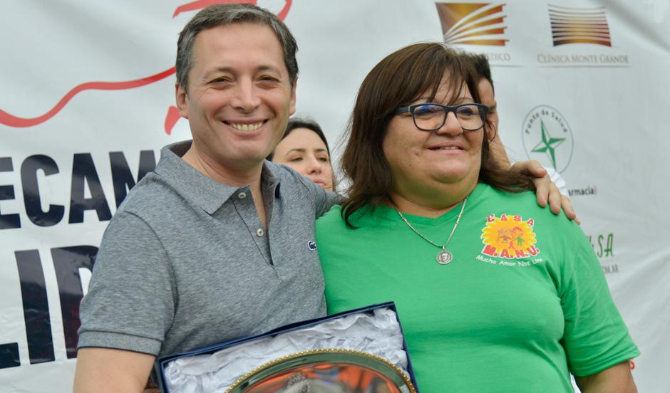 Gray participó de nueva edición de correcaminata solidaria de Casa MANU