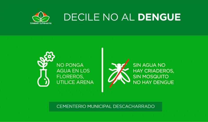 El Municipio de Esteban Echeverría realiza fumigaciones en grandes espacios verdes próximos a áreas urbanas, donde suele alojarse el mosquito adulto Aedes Aegypti, vector transmisor del virus del Dengue, Zika y Fiebre Chicungunya.