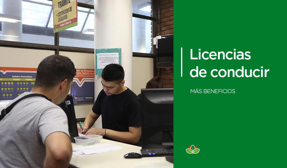 Más beneficios para obtener la licencia de conducir
