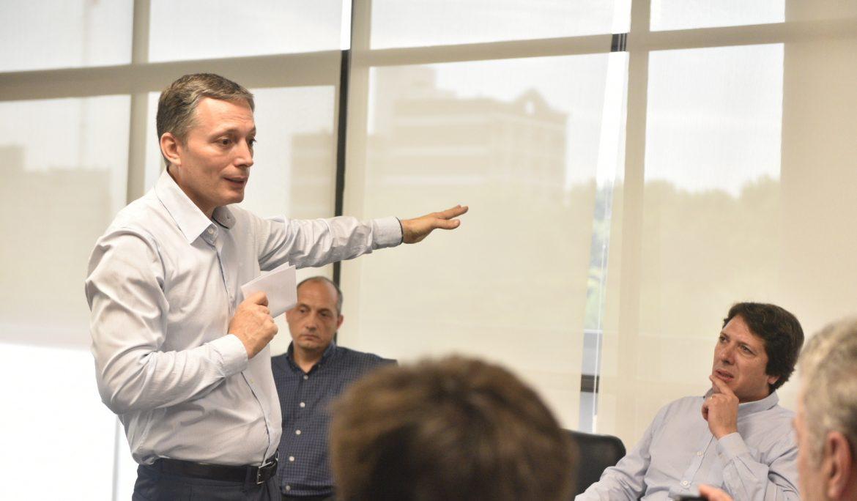 Gray Presentó Plan Hídrico Integral Para Esteban Echeverría
