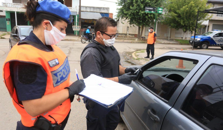 CONTROLES POLICIALES EN ACCESOS Y PUNTOS CLAVE DE ECHEVERRÍA