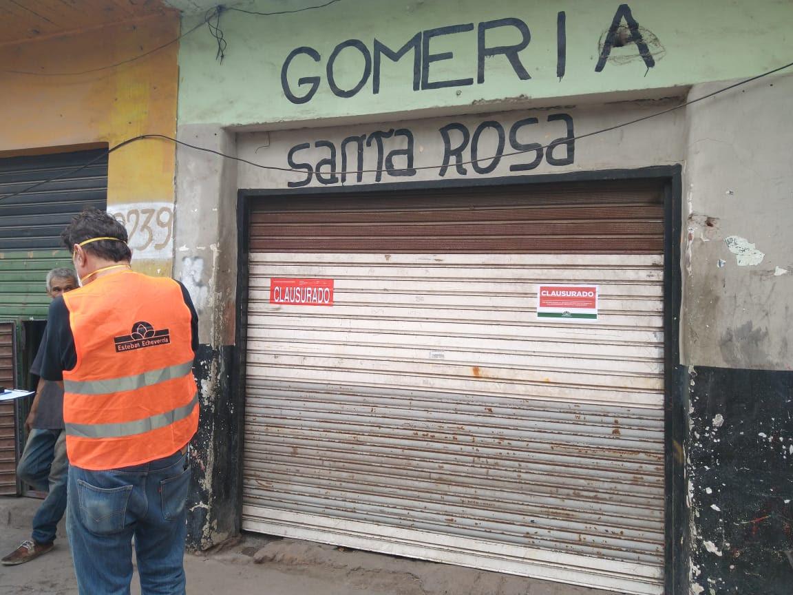 CLAUSURAS POR INCUMPLIMIENTO DE DECRETO PRESIDENCIAL
