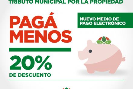 NUEVA MODALIDAD DE PAGO EN EL TRIBUTO MUNICIPAL