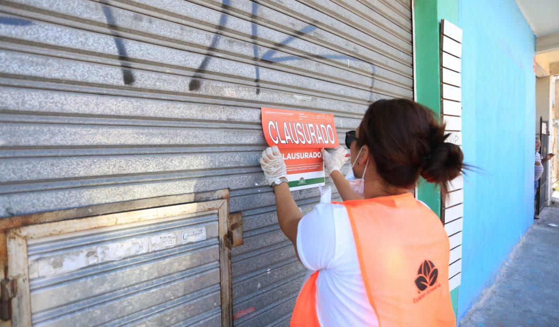 EL MUNICIPIO CLAUSURÓ UNA FERIA Y COMERCIOS QUE INCUMPLÍAN EL DECRETO PRESIDENCIAL