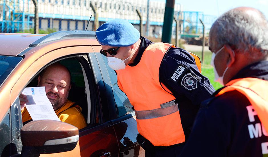 OPERATIVO POLICIAL EN EL DISTRITO