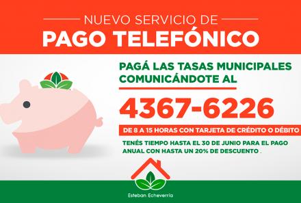 EXTENSIÓN DEL PLAZO DE PAGO DE TASAS MUNICIPALES