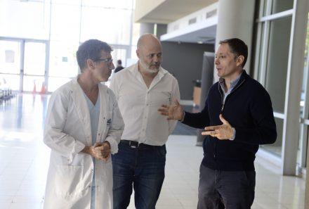 FERNANDO GRAY RECORRIÓ EL HOSPITAL DEL BICENTENARIO DE ESTEBAN ECHEVERRÍA