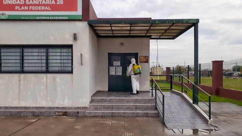 OPERATIVOS DE DESINFECCIÓN EN ENTIDADES BANCARIAS Y COMERCIOS