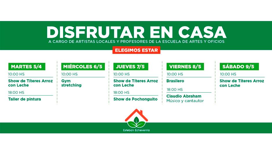 DISFRUTAR EN CASA
