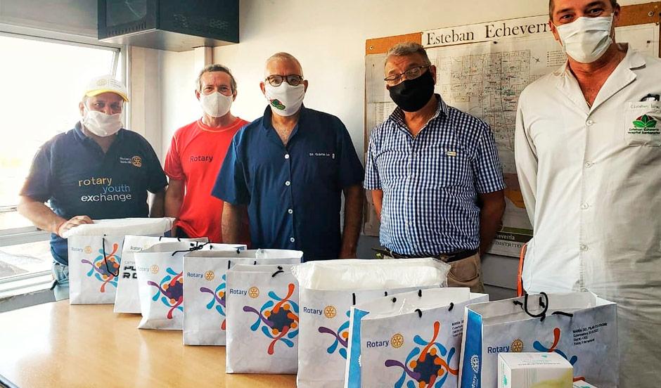 NUEVAS DONACIONES PARA EL HOSPITAL MUNICIPAL SANTAMARINA