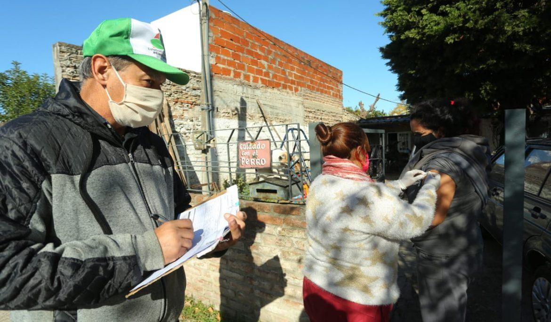 CONTINÚA LA CAMPAÑA DE VACUNACIÓN ANTIGRIPAL EN 9 DE ABRIL