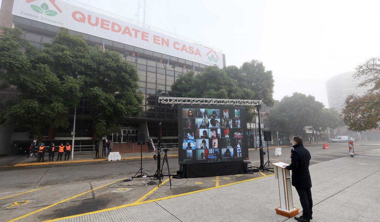 FERNANDO GRAY EN EL ACTO DEL DÍA DE LA BANDERA