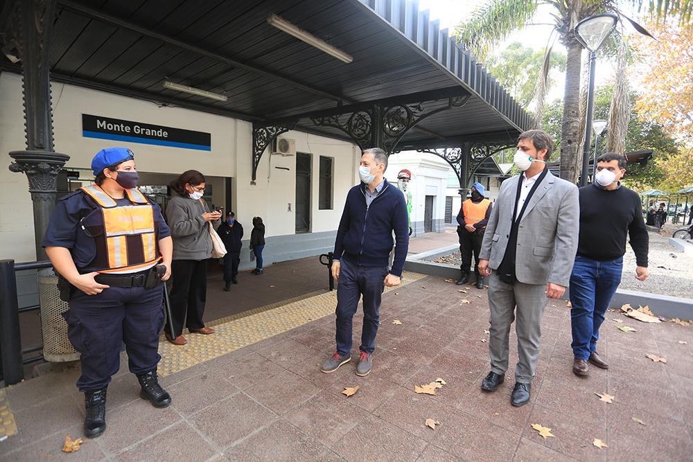 Informe N° 418 | FERNANDO GRAY Y ALEJO SUPPLY EN OPERATIVO DE CONTROL DE PASAJEROS DE TREN