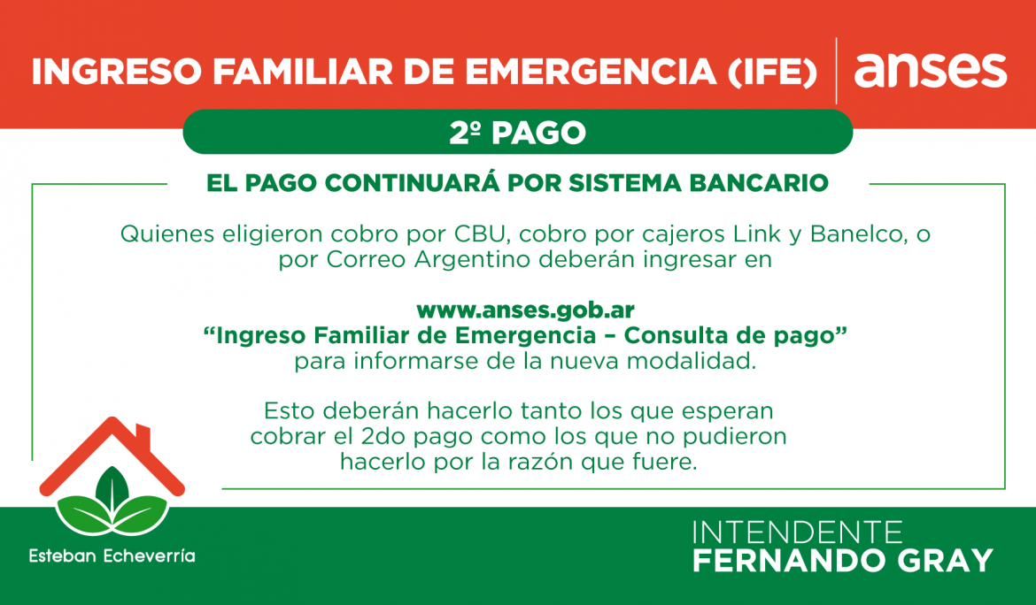 Informe N° 424 | Segundo pago del Ingreso Familiar de Emergencia