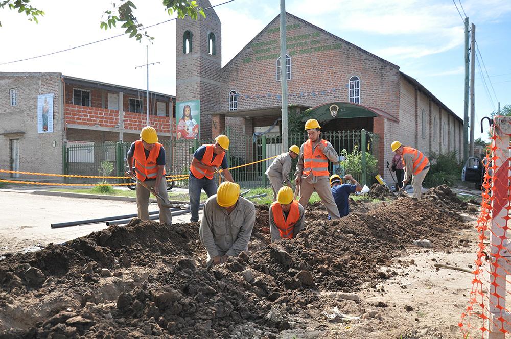 FINALIZÓ LA CONSTRUCCIÓN DE NUEVA RED DE AGUA EN EL JAGÜEL