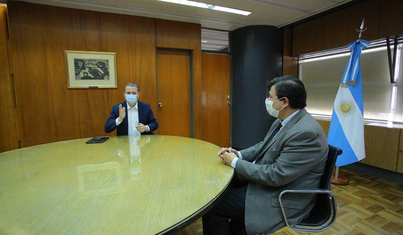Informe N° 468 | FERNANDO GRAY SE REUNIÓ CON CLAUDIO MORONI