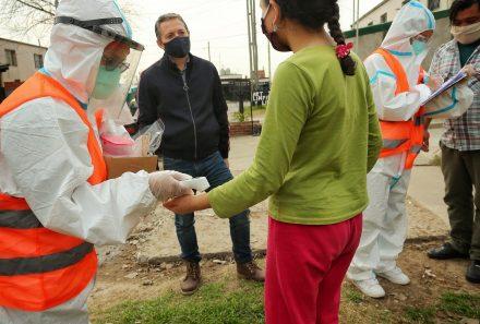 FERNANDO GRAY EN OPERATIVO DEL PLAN DETECTAR EN EL BARRIO PLAN FEDERAL