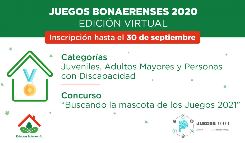 PREINSCRIPCIÓN A LOS JUEGOS BONAERENSES 2020